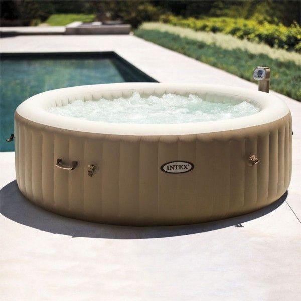 spa bulles 6 personnes beige intex spa et accessoires. Black Bedroom Furniture Sets. Home Design Ideas