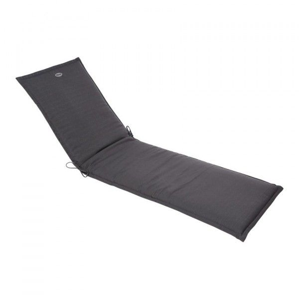 coussin de transat river ardoise textile d 39 ext rieur eminza. Black Bedroom Furniture Sets. Home Design Ideas