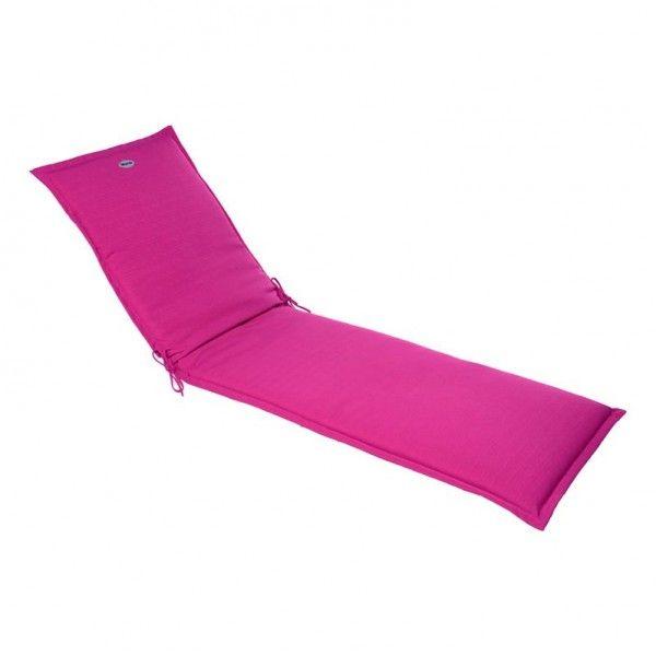 coussin de transat river framboise textile d 39 ext rieur eminza. Black Bedroom Furniture Sets. Home Design Ideas