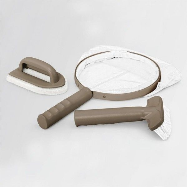 kit d 39 accessoires d 39 entretien pour spa intex piscine. Black Bedroom Furniture Sets. Home Design Ideas