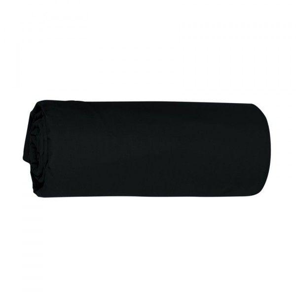 Drap housse noir linge de lit eminza for Drap housse noir