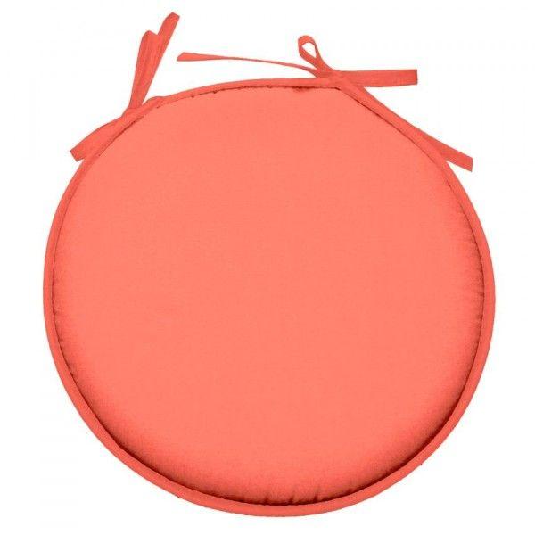 galette et coussin de chaise orange coussin et galette eminza. Black Bedroom Furniture Sets. Home Design Ideas