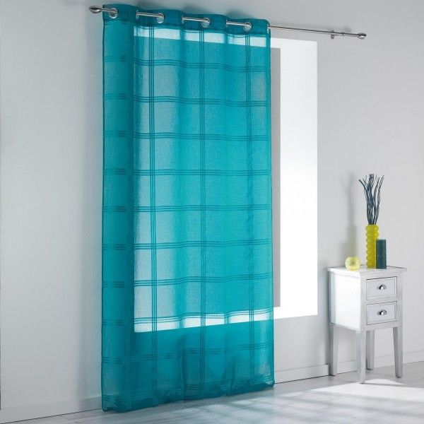 Voilage (140 x H240 cm) ray� Peps Turquoise
