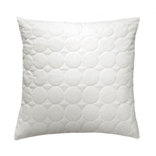 housse de coussin boutis 40 cm candy blanc coussin et housse de coussin eminza. Black Bedroom Furniture Sets. Home Design Ideas