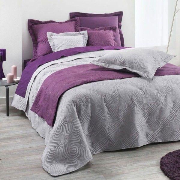 Couvre lit boutis linge de lit 2 eminza for Site de linge de lit