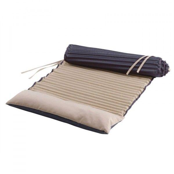 matelas roul garden duo taupe coussin et matelas pour mobilier eminza. Black Bedroom Furniture Sets. Home Design Ideas