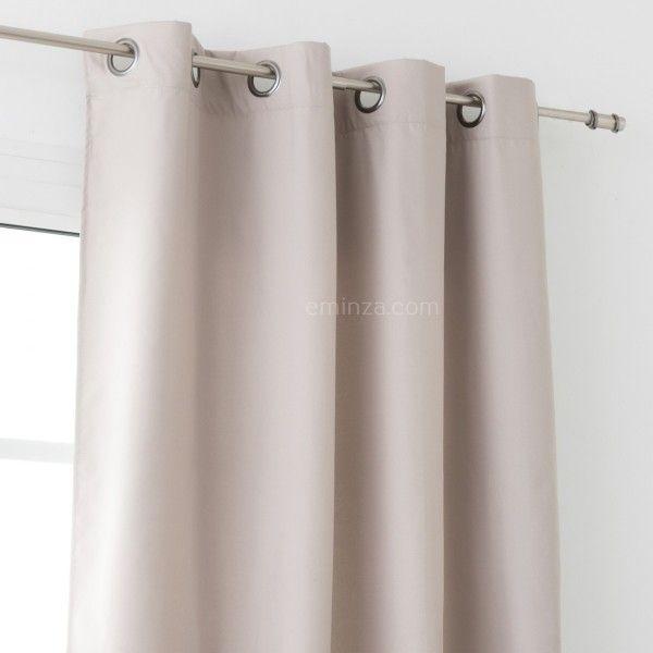 Rideau isolant rideau et voilage eminza - Tissu isolant thermique ...