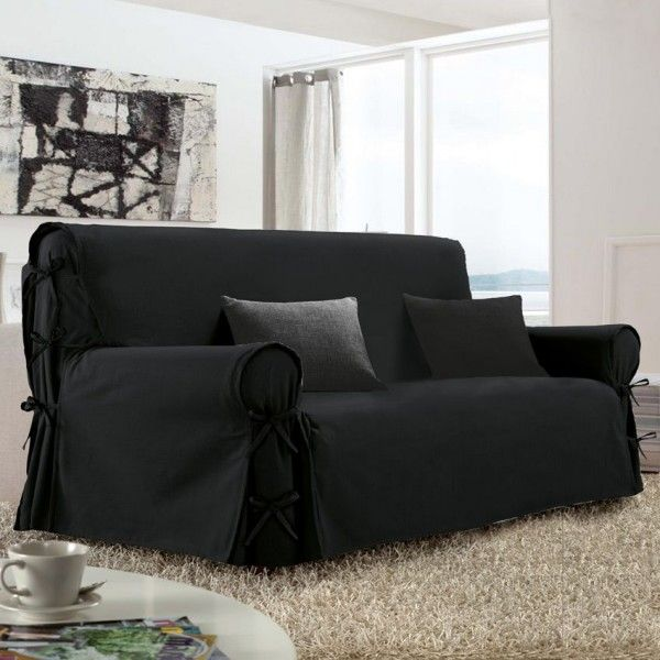 housse de canap housse de canap chaise eminza. Black Bedroom Furniture Sets. Home Design Ideas