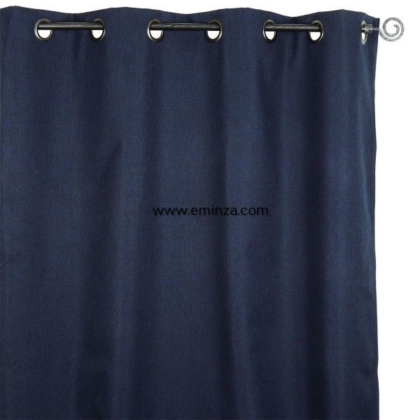 rideau occultant 140 x h240 cm calypso bleu roi rideau. Black Bedroom Furniture Sets. Home Design Ideas