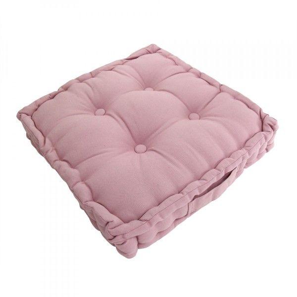 coussin de sol et pouf rose coussin et galette eminza. Black Bedroom Furniture Sets. Home Design Ideas