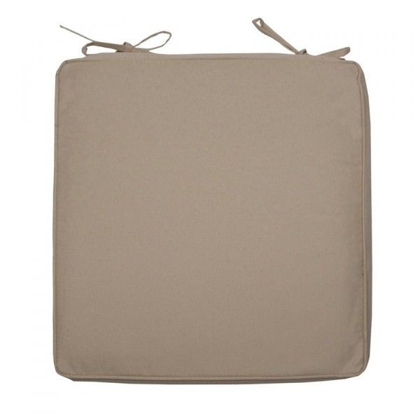 Galette De Chaise Impermeable Bali Taupe