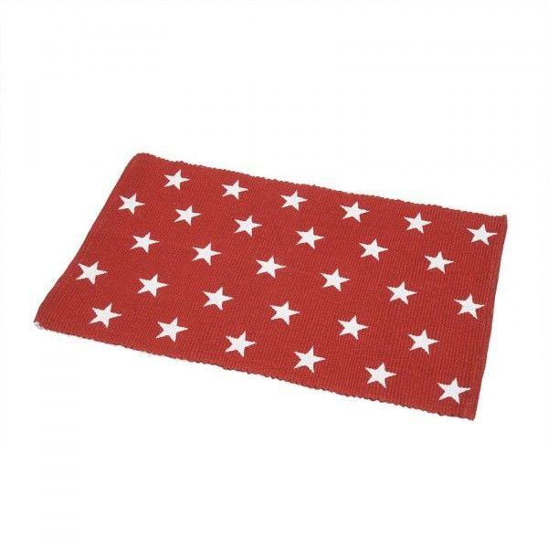 tapis de bain etoiles rouge tapis salle de bain eminza. Black Bedroom Furniture Sets. Home Design Ideas