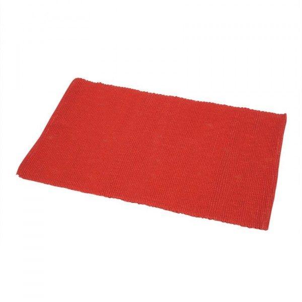 tapis de bain rouge eminza. Black Bedroom Furniture Sets. Home Design Ideas