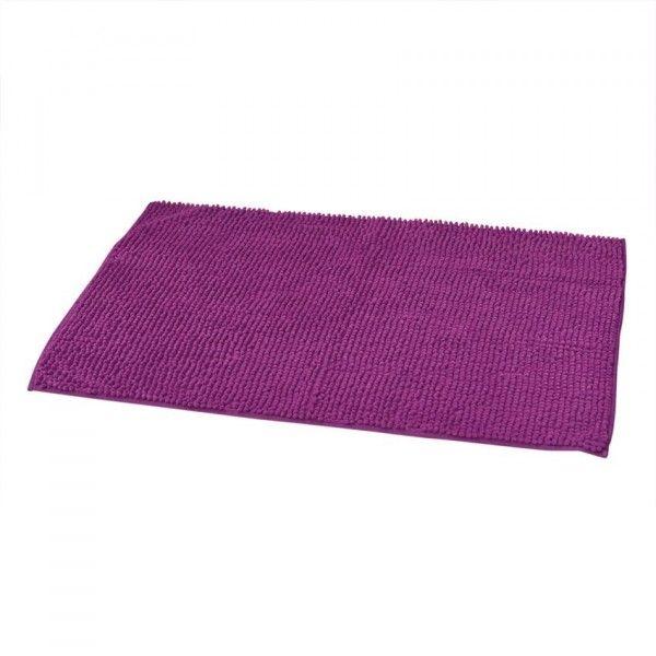 tapis de bain violet eminza. Black Bedroom Furniture Sets. Home Design Ideas