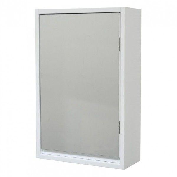 Meuble haut meuble eminza - Meuble haut salle de bain avec miroir ...