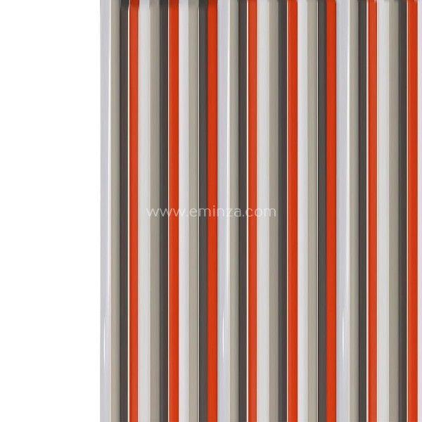 rideau de porte 90 x h220 cm lani res pvc rouge rideau de porte eminza. Black Bedroom Furniture Sets. Home Design Ideas