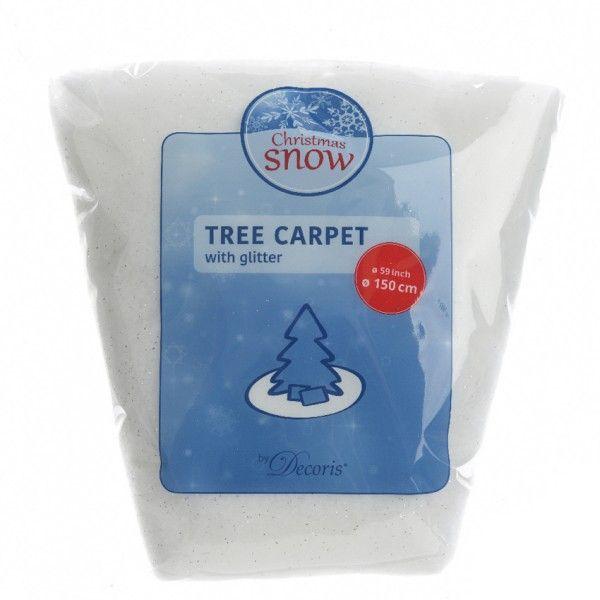 tapis de sapin rond paillet d150 cm sapin et arbre. Black Bedroom Furniture Sets. Home Design Ideas
