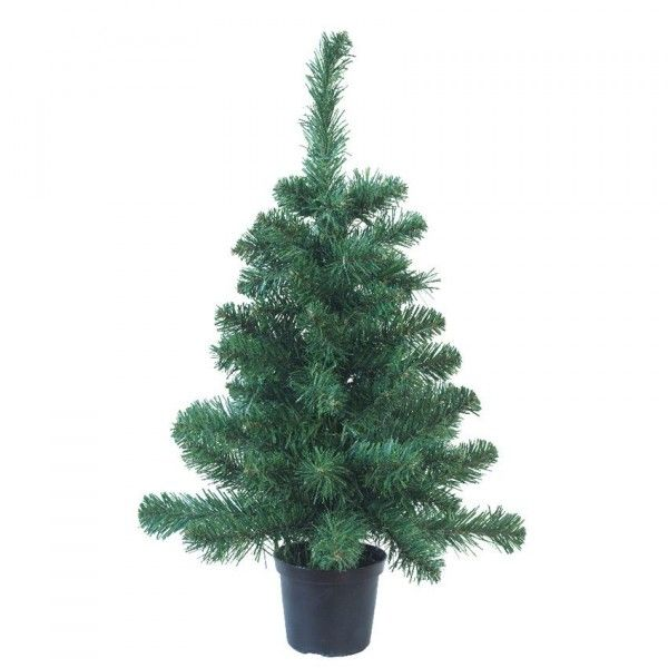 Sapin artificiel de table Nature H45 cm Vert sapin