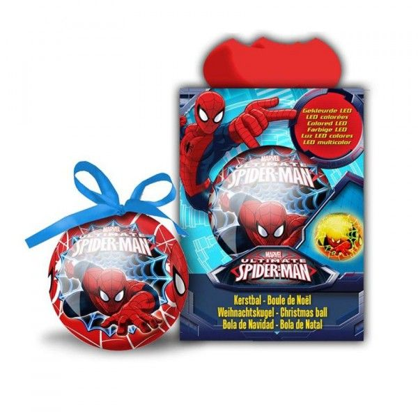 images/product/600/046/9/046973/disney-xmas-ball-75mm-led-cc-spider-man_46973