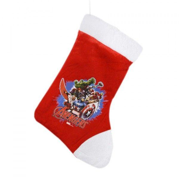 chaussette de nol disney avengers - Chaussette De Noel Disney