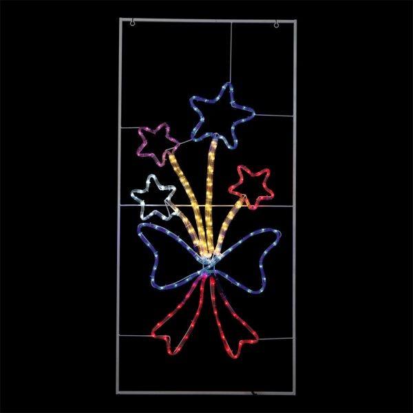 Silhouette lumineuse decoration lumineuse eminza - Cadre lumineux lettre ...