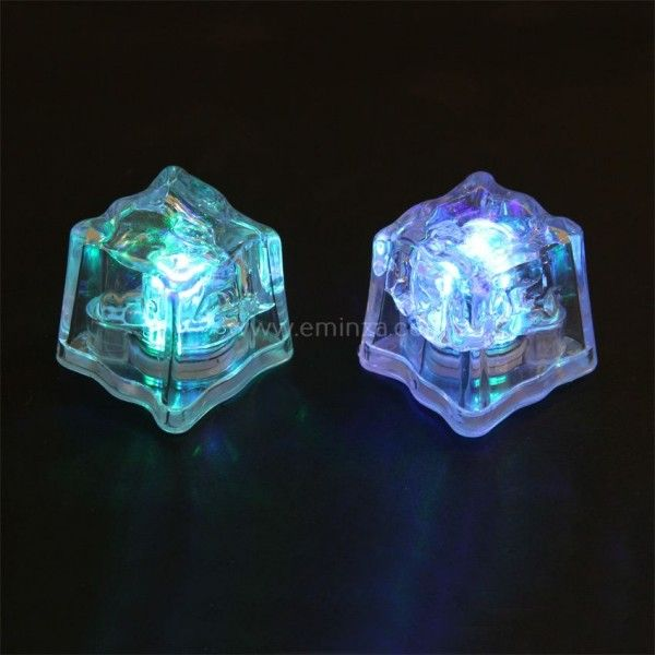 Lot de 2 Cubes LED étanches Bicolore