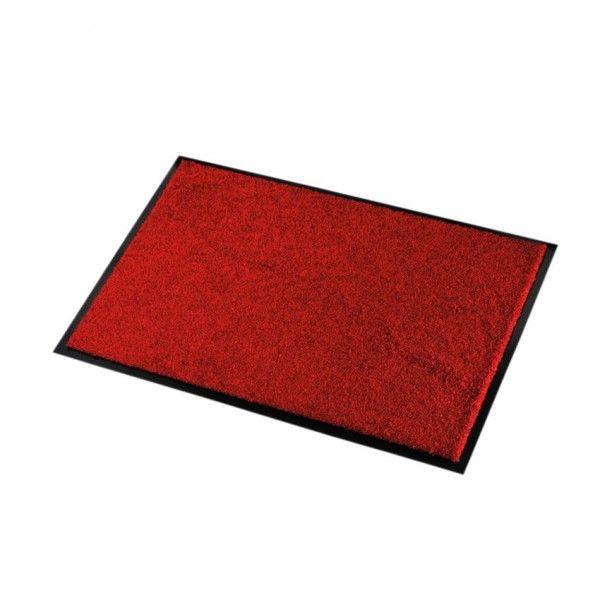 Tapis D Entree 60 Cm Wash Clean Rouge Tapis Eminza