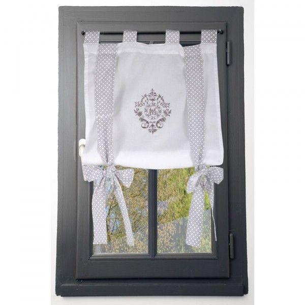 Voilage vitrage 80 x 160 cm meline rideau voilage Voilage vitrage porte fenetre