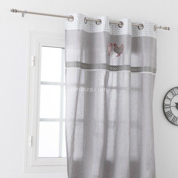 Rideau tamisant (135 x H260 cm) Padou - Rideau / Voilage / Store ...
