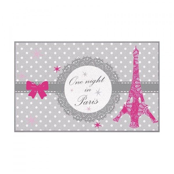tapis multi usage 80 cm paris love - Tapis Paris