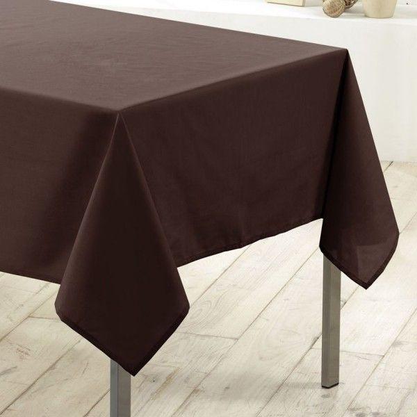 Nappe rectangulaire anti tache l200 cm essentiel - Nappe de table rectangulaire ...