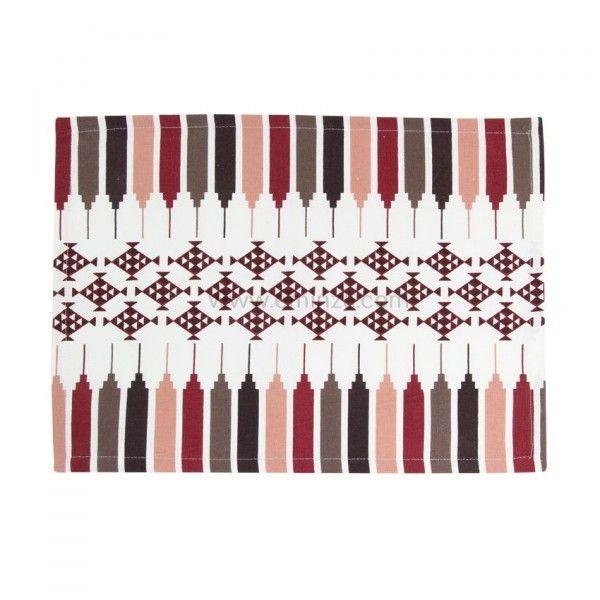 set de table mexica rouge chemin et set de table eminza. Black Bedroom Furniture Sets. Home Design Ideas