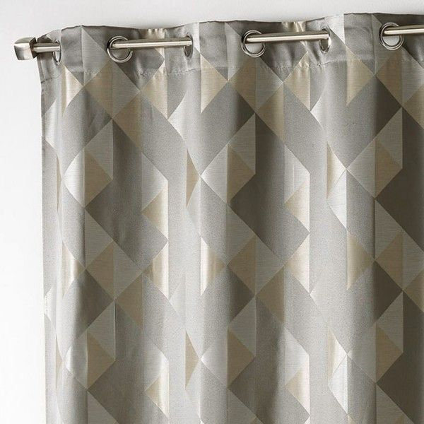 Rideau tamisant (140 x H260 cm) Trilogy Taupe