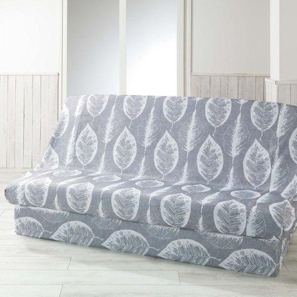 Housse de clic clac housse de canap chaise eminza - Housse de clic clac gris ...