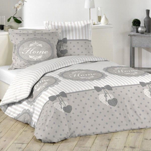 Bettwäsche 260 Cm Romantic Home Cremeweiß Bettwaren Eminza