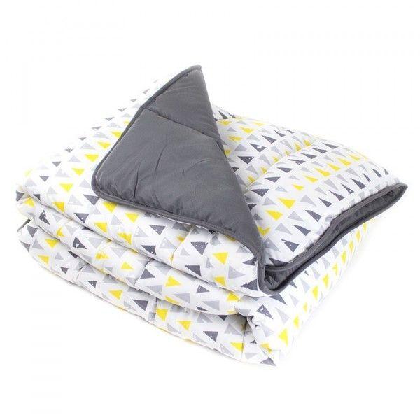 linge de lit jaune eminza. Black Bedroom Furniture Sets. Home Design Ideas