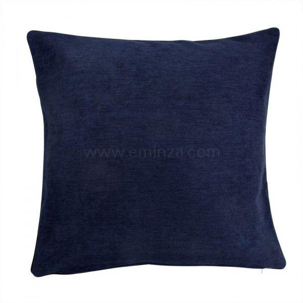housse de coussin alaska bleu coussin et housse de coussin eminza. Black Bedroom Furniture Sets. Home Design Ideas