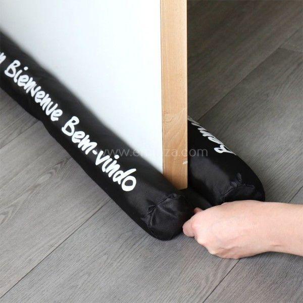 coussin bas de porte coussin et galette eminza. Black Bedroom Furniture Sets. Home Design Ideas