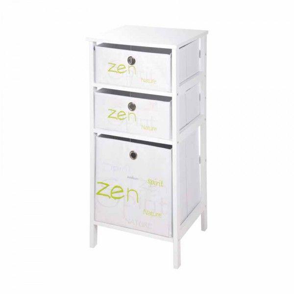 Meuble meuble colonne meuble dessous lavabo meuble bas for Meuble zen et nature