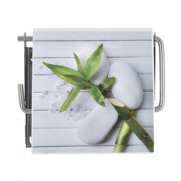 porte papier toilettes so zen accessoire wc eminza. Black Bedroom Furniture Sets. Home Design Ideas