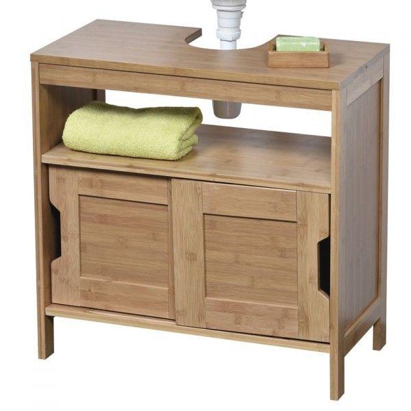 meuble dessous lavabo mah dessous lavabo eminza. Black Bedroom Furniture Sets. Home Design Ideas