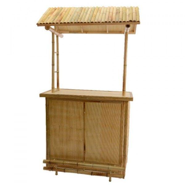 Bar de jardin Bambou Cuba / Petit modèle - Salon de jardin, table et ...