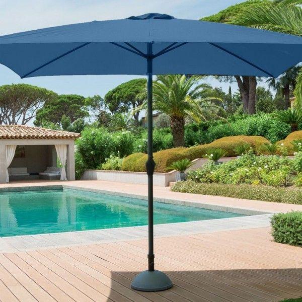 parasol inclinable rectangulaire fidji l 3 x l 2 m. Black Bedroom Furniture Sets. Home Design Ideas
