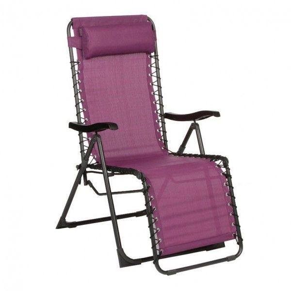 fauteuil d tente silos prune bain de soleil eminza. Black Bedroom Furniture Sets. Home Design Ideas