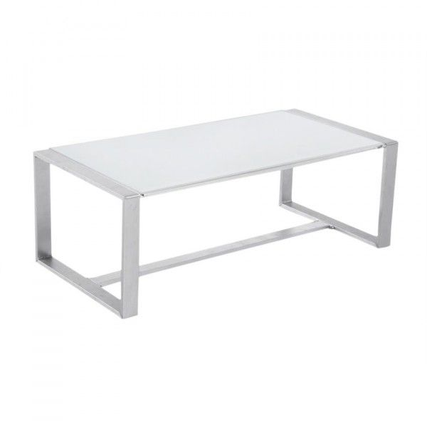 Table basse de jardin Sesimbra - Blanc - Salon de jardin, table et ...