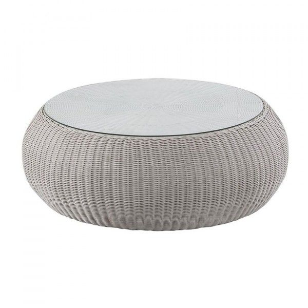 Table basse de jardin Java - Gris clair - Salon de jardin, table et ...