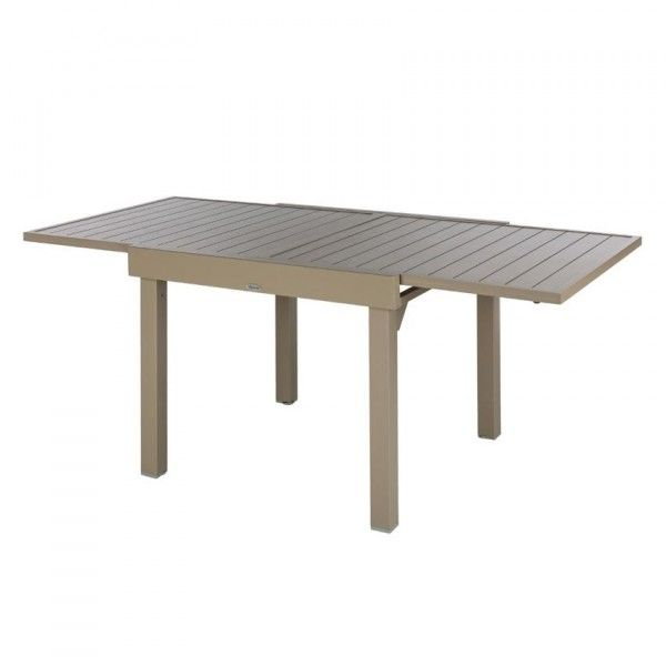 Emejing Table De Jardin Aluminium Taupe Pictures - Awesome Interior ...