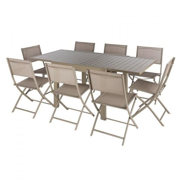Awesome Table De Jardin Alu Taupe Photos - Awesome Interior Home ...