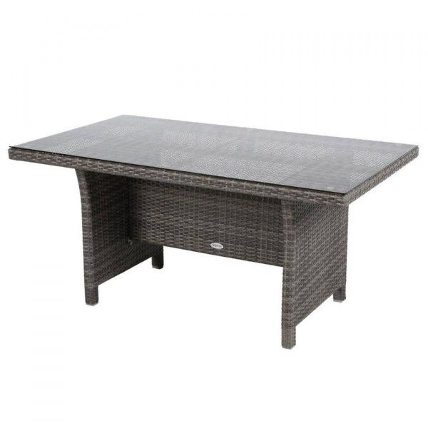 Table haute de jardin Giannella - Moka