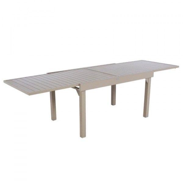 Table de jardin salon de jardin repas et detente eminza for Table extensible 270